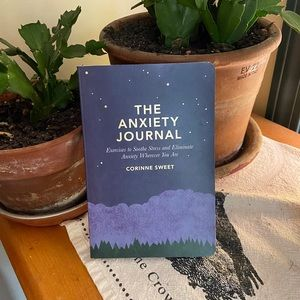 The Anxiety Journal by Corrine Sweet